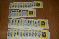 VINTAGE 1978 TOPPS BATTLESTAR CARD STICKER WAX BOX PACK WRAPPER LOT OF 42 BSG
