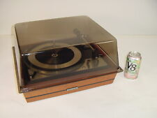 Vintage Dual 1209 Turntable Project United Audio Base Dust Cover Pickering Xv-15