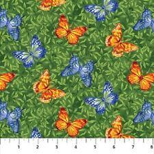 1 yard Wildflowers by Deborah Edwards Northcott 100% cotton fabric 20544 74