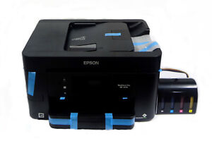 Epson workforce WF-3720 sublimation ink printer with chipless CISS NO RESET NEED