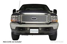 Putco Punch Stainless Steel Grilles For 99-04 Ford F-250/ 02-04 F-350 Super Duty