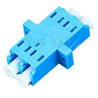 Low Price High Quality Fiber Optic Single Mode LC Duplex Optical Fiber Adapter