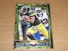 2015 Topps ANTONIO BROWN #240 Camo SP/399 Pittsburgh STEELERS Central Michigan