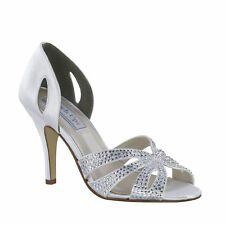 aab9fedcf84 High (3 in. and Up) Satin Bridal Shoes for sale