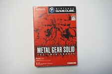 Nintendo GameCube Metal Gear Solid The Twin Snakes Japan NGC Game US seller