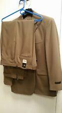 J. Ferrar Brown Suit & Pant NWT~Jacket sz 42R Pant sz 38/30