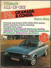 Ford Granada & Consul from 1971 2000, 2500, 3000 Pitman All in one DIY book