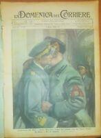 LA DOMENICA DEL CORRIERE 6 marzo 1938 Bruno Mussolini sorci verdi volo Roma Rio