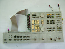 HP 3562A front panel fully tested
