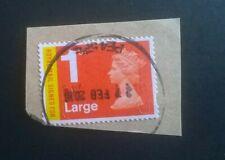 1 GB Used SIGNEDFOR MA13/ MAIL SECURITY MACHIN 2013 Stamp SG U3050 POSTMARK 2016
