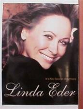 Linda Eder Poster great face shot Promo