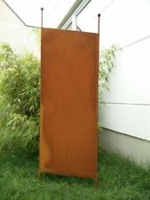 Edelrost Garten Sichtschutz Rost Sichtschutzwand Gartenzubehör Metall H165*50cm