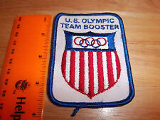USA olympic team Booster, beautiful embroidered Patch, great collectible item