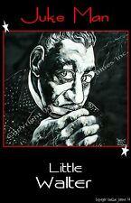 Little Walter Juke Man Poster by Cadillac Johnson