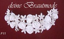 Brautschleierabschluss Brautschleier-Haarschmuck Haargesteck zum Schleier neu