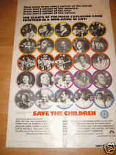 SAVE THE CHILDREN - 1973 - ORIGINAL MOVIE POSTER SAVETH