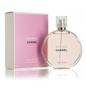 Chance Eau Vive by Chanel Women Perfume Eau De Toilette Spray 3.4 oz / 100 ml