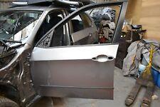 BMW X5 E70 GENUINE FRONT DOOR PANEL IN SPACE GREY N/S/F LEFT SIDE FRONT