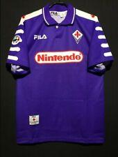 1998 Fiorentina Home Shirt 9 Batistuta All Sizes By Fila