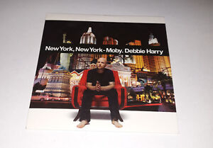Moby Debby Harry - New York New York - cd promo 1 titre 2006