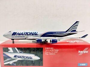 Herpa Wings National Air Cargo Boeing 747-400F 1:500 N952CA 518819-001
