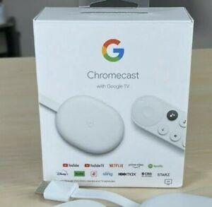 Google Chromecast con Google TV 4К (100% NUEVO/NEW)
