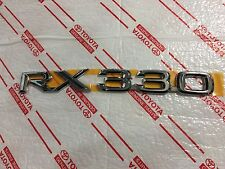 *NEW LEXUS RX330 TRUNK CHROME EMBLEM BADGE OEM 2004-2006 REAR BACK DOOR