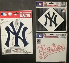 New York Yankees - Decal / Sticker Package (f)