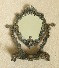 Metal Freestanding/Cheval Oval Decorative Mirrors