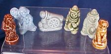 6 Wade Eng Figurines Whimsy Clowns Cannon Monkey Tiger