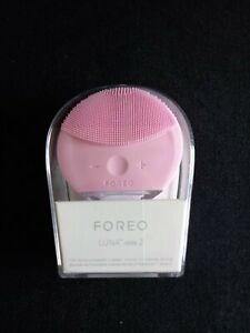 BRAND NEW FOREO LUNA MINI 2 FACIAL SPA AND CLEANSER IN ONE,PEARL PINK.