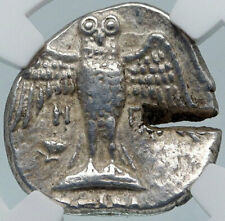 AMISOS in PONTUS 435BC Ancient Silver Greek Siglos Coin w HERA EAGLE NGC i85406