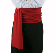 Pirate sash Zorro Dracula Fancy Dress Accessorie Buccaneer LARP Costume