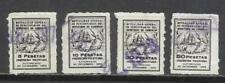 Sellos de España fiscales de 4 sellos
