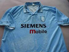 Men's size Large Hernan Crespo #10 Argebtine Soccer Blue Siemens Mobile Shirt