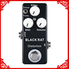 Mosky RAT Distortion Guitar Effect Pedal Two Model Distortion and True Bypass