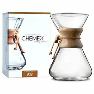 Chemex Classic Series Pour-Over Glass Coffeemaker 10 Cup - Exclusive Packaging