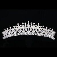 Bridal Pageant Rhinestone Crystal Prom Wedding Crown Tiara 8876