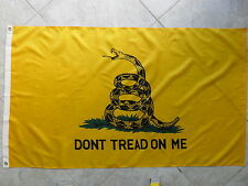 GADSDEN - DON'T TREAD ON ME - TEA PARTY  FLAG 3X5