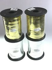 Curling Ribbon Metalic Gold & Silver Set Of 4 Rolls Massive Clearance