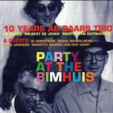 Ab Baars, Ab Baars Trio & Guests - Party at the Bimhuis [New CD]