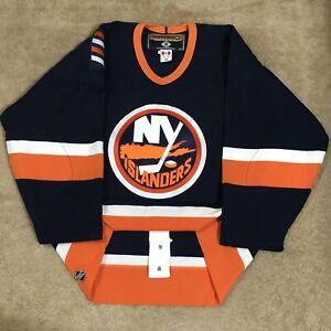 Koho Authentic New York Islanders NHL Hockey Jersey Vintage Navy Blue Home 48