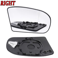 Right RH Side Clear HEATED Mirror Glass for Benz E/C-Class W211 W203 2001-2007