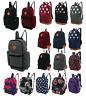 Mens Boys Girls Retro Backpack Rucksack School Bag College University Travel Bag