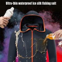 Men Waterproof Windproof Wood Camouflage Camo Jacket Fishing Hiking Hunting Coat