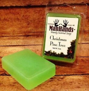 ManHands - Christmas Pine TreeScented Soap