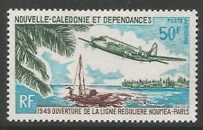 NEW CALEDONIA. 1969. Noumea Paris Air Service Commem SG: 475. Mint Never Hinged