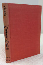 LUNACY & LETTERS By G.K. Chesterton (author), Dorothy Collins (editor), 1958