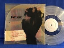 FAUST RECOMMENDED RR ONE + INSERT AND CARD 1979 UK LP NEAR MINT