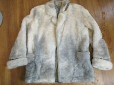 Eddie Bauer Icelandic Sheepskin Shearling Fur Coat Jacket Womens Medium